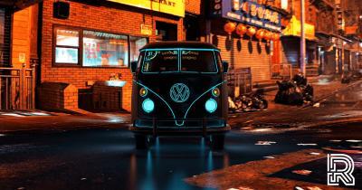 CyberKombi | Les photos du VW Combi inspiré par le monde du jeu vidéo
