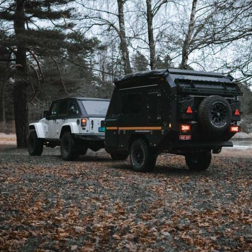 Crawler TRC 428 Nordic | les photos de la mini caravane