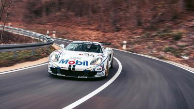 Porsche Carrera GT-R | Les photos de l'unique Carrera GT préparée pour la course