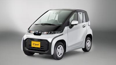 Toyota C+pod | Les photos de la micro-citadine japonaise 100% électrique