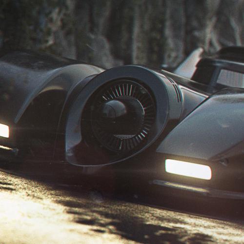 Batman | la batmobile version Tim Burton remise au goût du jour