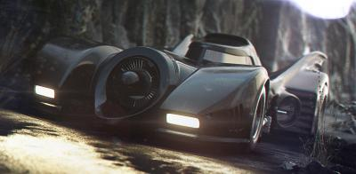 Batman | la batmobile version Tim Burton remise au goût du jour
