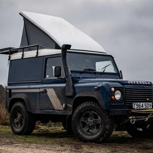 Land Rover Defender by Felix Collier   les photos du camping-car
