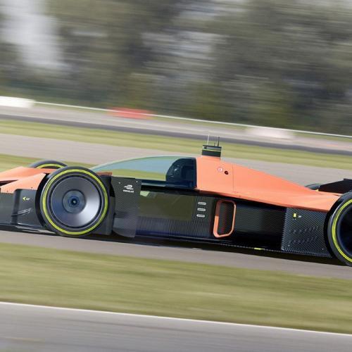 La F1 du futur | les photos du concept électrique avec cockpit fermé