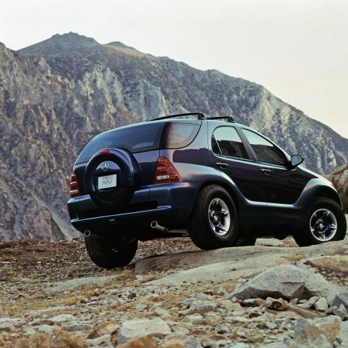 Mercedes AAVision | Les photos du concept-car préfigurant le ML