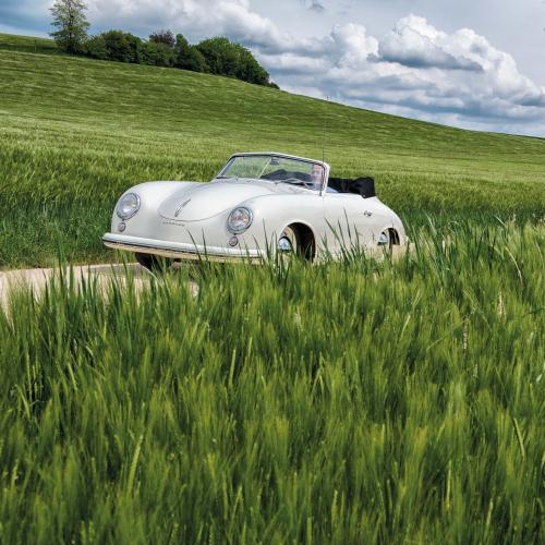 Porsche 356 Pré-A 1500 Cabriolet | Les photos de l'unique exemplaire en aluminium