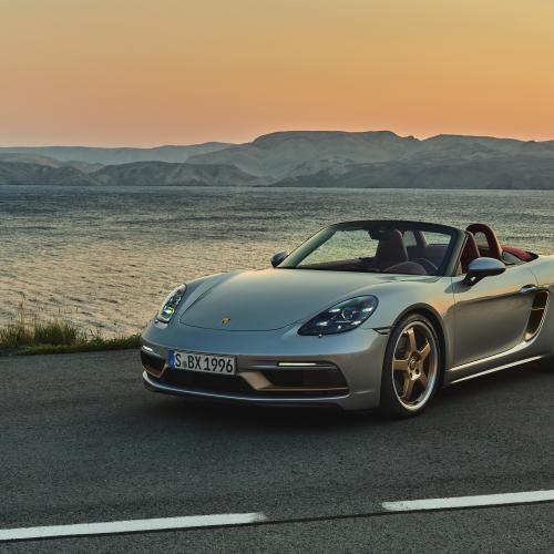 Porsche Boxster 25 Years | Les photos du roadster en édition limitée