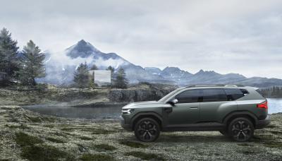 Dacia Bigster Concept | Les photos du SUV de segment C