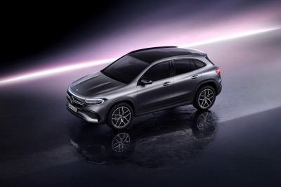 Mercedes EQA (2021) | Les photos du SUV compact 100% électrique