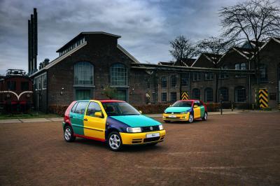 Volkswagen Polo Arlequin | Les photos des citadines multicolores