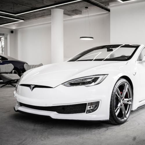 Tesla Model S Cabriolet   Les photos de la réalisation d'Ares Design