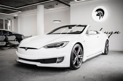Tesla Model S Cabriolet | Les photos de la réalisation d'Ares Design