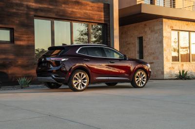 Buick Envision (2021) | Les photos de l'Opel Grandland X américain