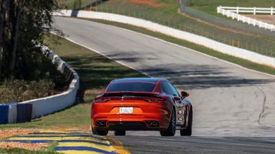 Porsche Panamera Turbo S | Les photos du record à Road Atlanta