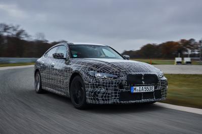 BMW i4 (2021) | Les photos de la berline électrique en essai sous camouflage