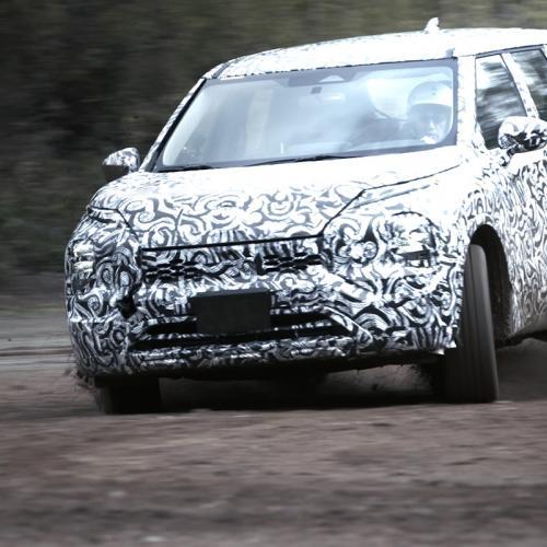 Mitsubishi Outlander (2021)   Les photos des derniers essais sous camouflage