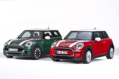 Gamme Mini (2021) | Les photos des versions restylées (Hatch 3 et 5 portes, Cabrio)