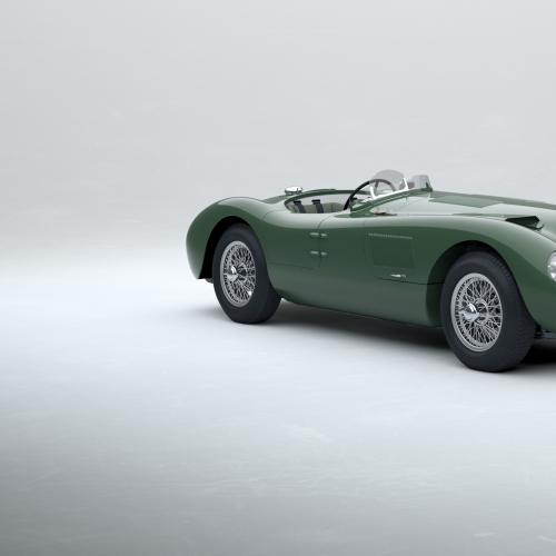 Jaguar Type C Continuation | Les photos de la voiture de course refabriquée