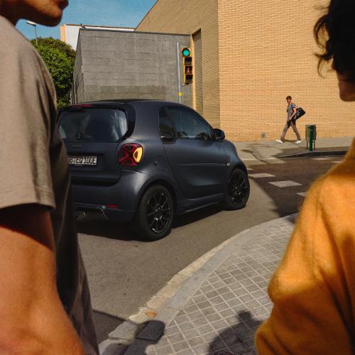Smart EQ fortwo édition bluedawn | Les photos de la série spéciale