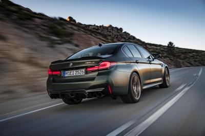 BMW M5 CS (2021) | la puissante berline allemande en 5 chiffres
