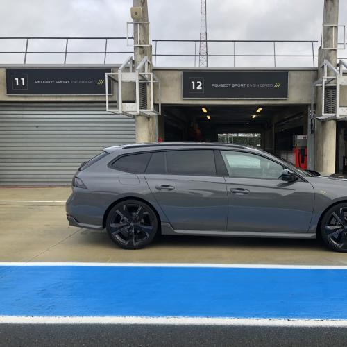 Essai nouvelle Peugeot 508 SW PSE | nos photos sur le tracé des 24h du Mans