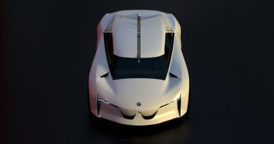 BMW Connected Dynamics | La supercar futuriste de Lukas Haas
