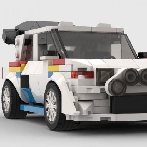 Peugeot 205 T16 en Lego | Les images de la championne de rallye