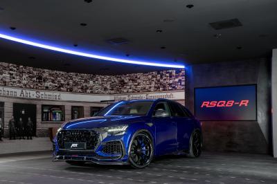 ABT RSQ8-R | Les photos de l'Audi RS Q8 préparé en bleu Saint-Marin