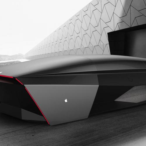 Apple Car 2076 | Les photos du concept-car d'Ali Cam