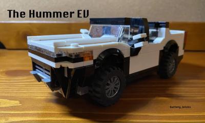 Hummer EV | Les photos de la version en Lego faite par un fan
