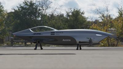 Alauda Airspeeder   Les photos de la première voiture électrique volante au monde