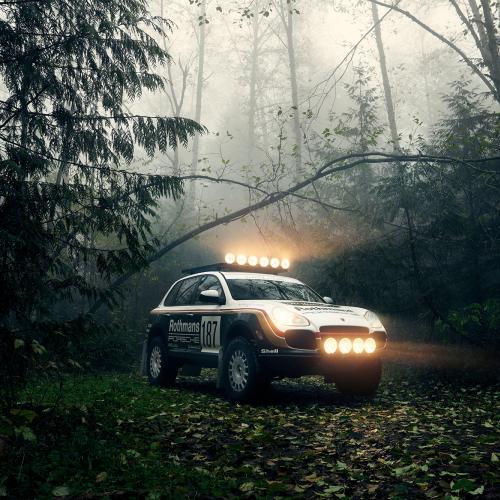 Porsche Cayenne Turbo Safari | Les photos du SUV modifié