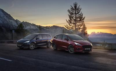 Ford S-Max et Galaxy Hybrid | Les photos des monospaces hybrides
