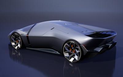 Lamborghini E_X | Les images du concept-car 100% électrique