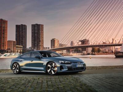 Audi e-tron GT (2021)   Les photos du coupé 4 portes électrique
