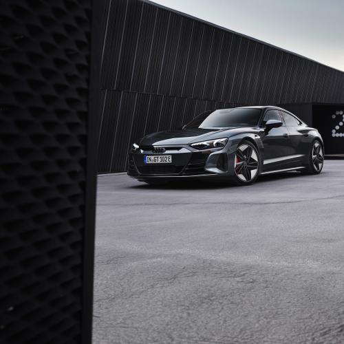 Audi RS e-tron GT | les photos de la version sportive du coupé