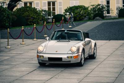 Porsche 911 Cabriolet | Les photos de l'exemplaire de Diego Maradona