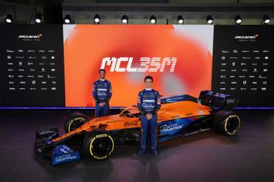 F1 2021 | la McLaren MCL35M en images