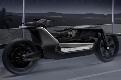 Tesla Model C | les photos du concept de moto électrique