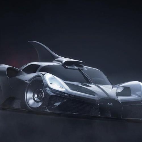 Bat Bolide | Les images de la Batmobile sur base Bugatti