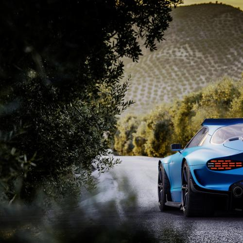 Alpine GTA   Les photos du concept-car d'Arseny Kostromin