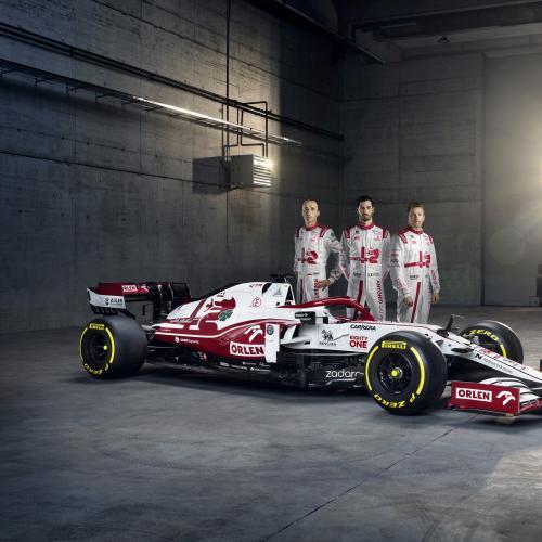 F1 2021 | Les photos de l'Alfa Romeo C41 de Raikkonen et Giovinazzi