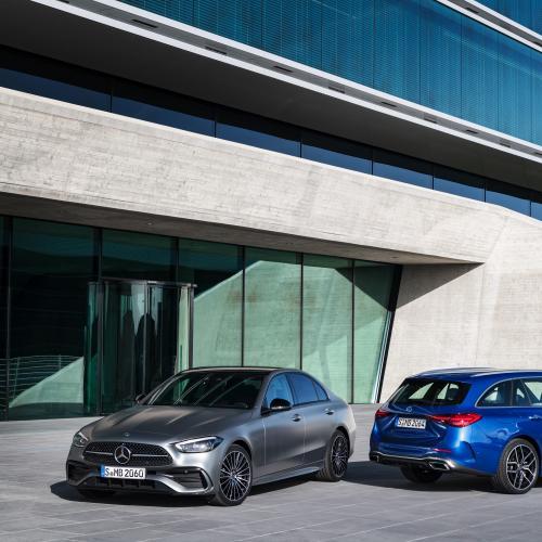 Mercedes Classe C (2021)   Les photos de la berline familiale