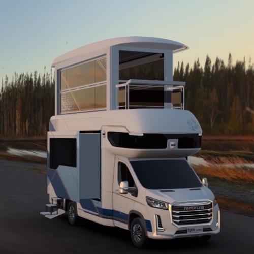 SAIC Motor Maxus Life Home V90 Villa Edition   les photos du camping-car