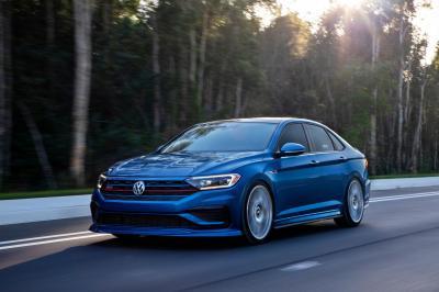 Volkswagen Jetta GLI Blue Lagoon Concept 2021 | Les photos de la compacte