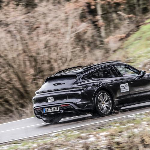 Porsche Taycan Cross Turismo | Les photos en phase d'essais