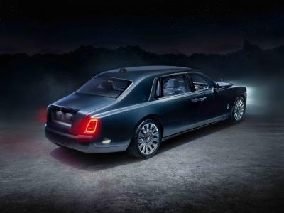 Rolls-Royce Phantom Tempus Collection | Les photos de la limousine