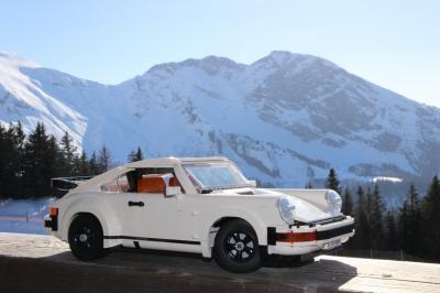Porsche 911 x Lego | nos photos de la sportive allemande assemblée