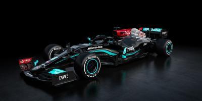 F1 2021 | Les photos de la Mercedes de Sir Lewis Hamilton et Valtteri Bottas