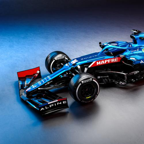 F1 2021 | Les photos de l'Alpine d'Alonso et Ocon